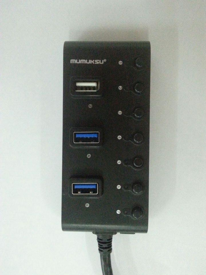 Mumuksu USB Hub 3.0 - 7 Port (MU-475a)