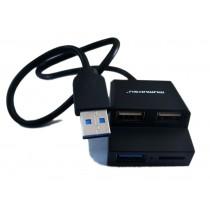 Mumuksu HUB + Card Reader 3.0 Combo (CMB3-960)