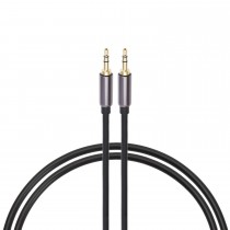 Mumuksu Audio Cable - 3.5mm Stereo Male to Male (Aux-in) 1.8 m Cable - (ZA-MM018S)