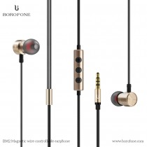 Borofone Wired Stereo In-Ear Earphone with Magnet (BM2)