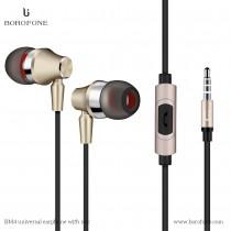 Borofone Wired Stereo In-Ear Earphone with Microphone (BM4)