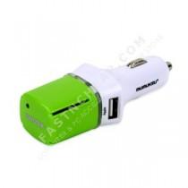 Mumuksu 2-USB Port Car Adaptor with Ionizer (MPA-120i)